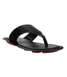 Le Costa Black Slipper for Men - LSP0007